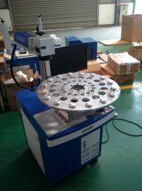 成都多工位自动旋转激光打标机,专业旋转激光刻字机厂家直销