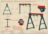 高度四米三角架电动葫芦 组装结构设计 免费送货安装
