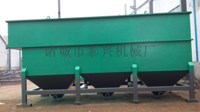 碳鋼防腐斜管污水澄清沉澱池
