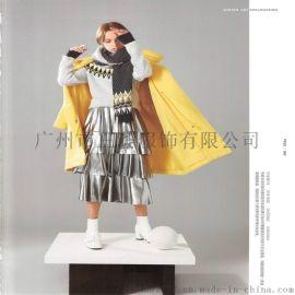 帛珂连衣裙品牌折扣货源杭州米祖女装打包拿货