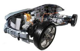 众兆太阳能电动汽车整车解剖模型