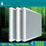 厂家直供 广东惠州光触媒过滤网 铝基二氧化钛蜂窝状高效空气滤化网