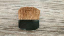 厂家生产定制 马毛黑色小扁刷 便携腮红刷 迷你化妆刷