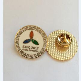 成都纯银胸章价格金属徽章logo制作厂家