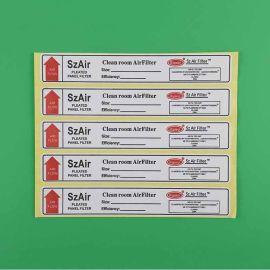 东莞标签厂直销安全环保小标签贴书写纸标签纸精致美观不干胶定制