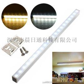 20LED长条铝合金人体感应灯红外橱柜灯