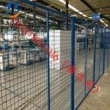 防鏽車間隔離網定製生產 綠色倉庫隔離網廠家