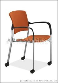 四脚扶手椅,可堆叠多功能椅,洽谈椅