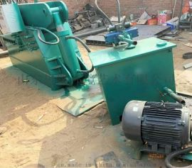 金属液压剪切机 废钢板钢管切段机
