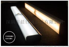 LED光控人体感应小夜灯充电 衣橱柜感应灯