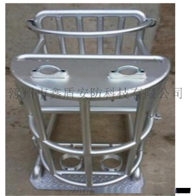 [鑫盾安防]圆管不锈钢审讯椅 讯问桌椅XD3