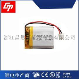 3.7聚合物电池 603044 800mah 电动工具、行车记录仪、移动音箱