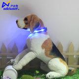 寵物用品發光項圈 led充電防水項圈外貿亞馬遜爆款