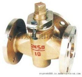 X44T-1.0三通铜芯旋塞阀