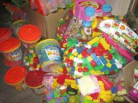 库存积木玩具