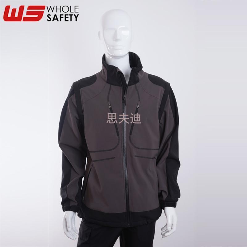 批發定製 阻燃防靜電休閒服 運動防護保暖服 軟殼保暖防水夾克