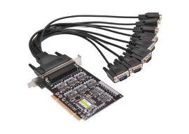 八口工业级RS-485/422 PCI多串口卡(UT-728)