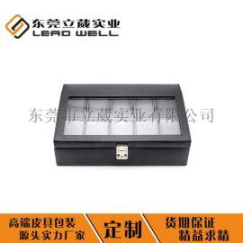 厂家批发定做**PU皮手表盒饰品盒首饰礼品包装盒
