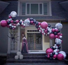 昆明花語花香氣球布置氣球布場氣球裝飾氣球造型