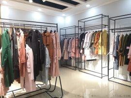 广州品牌女装 艾维都时尚知性女装一手货源批发