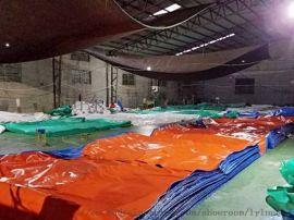 篷布厂家直销 绿色加强货车防水篷布帆布