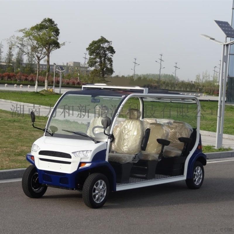 6-8座敞篷式电动观光车、电动巡逻车