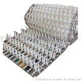 Conveyor定做洗碗机网带 塑料链板传送带