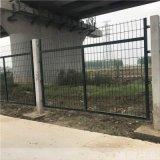 鄭州瀾潤高速鐵路橋下防護柵欄生產廠家