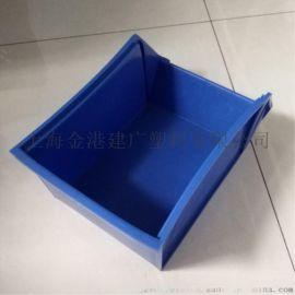塑料零件盒, 塑料200挂斗,塑料背挂式零件箱