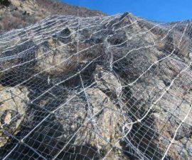 生产丝网老厂,厂家直销主动网被动网,边坡防护网施工