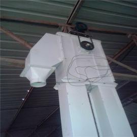 粉末颗粒上料用TH型号垂直钢斗环链提升机Lj8