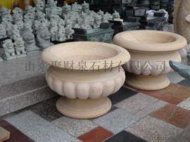 石材花盆花钵,花岗岩花盆,园林景观工程施工