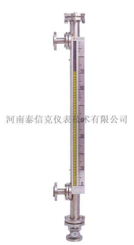 厂家直供化工衬氟磁翻板式液位计 pp磁翻板液位计