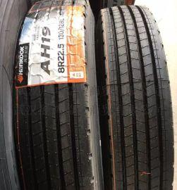 韩泰全钢卡客车轮胎8R22.5-14 AH19