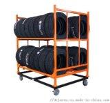 輪胎貨架輪轂架子汽車用品展示架摩託汽車輪胎展示架
