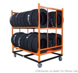 轮胎货架轮毂架子汽车用品展示架摩托汽车轮胎展示架