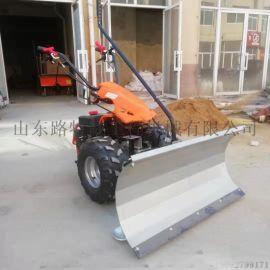 青马小型除雪机 车轮式滚刷扫雪机