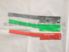 供应 PVC反光手腕带 医用手腕带 弹片手腕带