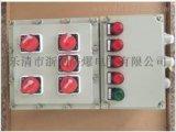 炼钢厂壁挂式安装防爆按钮箱|防护等级IP65