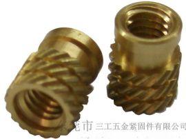 系列双斜纹锥形滚花螺母IUB、IUC、铜嵌件