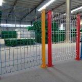 沃達歐式加強護欄網 工廠隔離防護欄 三角折彎園林鐵絲網圍欄