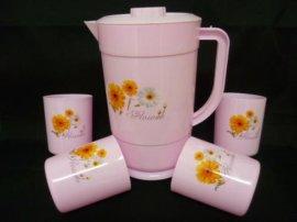 四个水杯塑料杯(1512093)