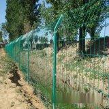 雙邊絲隔離柵廠家供應 河北絲網之鄉1.8m 綠色圍牆隔離柵