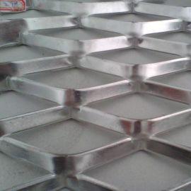 金属幕墙铝板网 菱形孔 六角孔钢板网