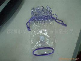 定制 PVC收納袋,PVC穿繩袋,PVC化妝袋