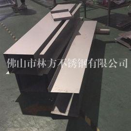 河源异型不锈钢线槽 不锈钢装饰条 不锈钢U型槽 门框线槽加工订做