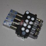 DCV40-4OQ系列手动气控液压多路换向阀