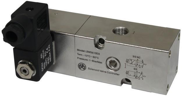 不锈钢单电控电磁阀 电磁换向阀