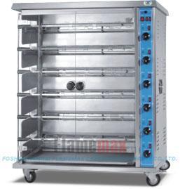 燃气烤鸡炉,烘烤箱,烤炉(HGJ-6P)