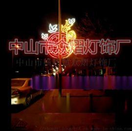 LED紫色粉色大型燈光聖誕樹 聖誕雪花燈 圖案